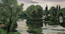 The Marne in Chelles in June
